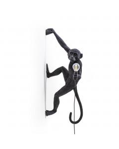 Seletti Wandlamp Monkey Right Black