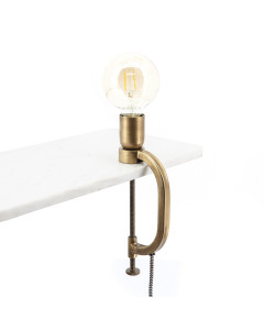 By Boo Wandlamp Klamp Brass
