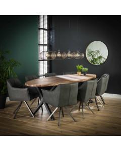 Meer Design Eettafel Rome 240 cm