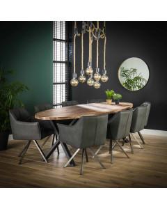 Meer Design Eettafel Rome 270 cm
