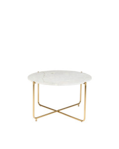 Meer Design Salontafel Timpa Marble White