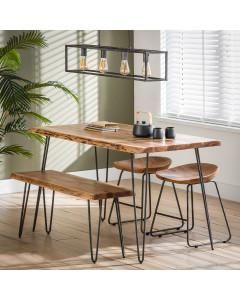 Meer Design Eetkamerbank Lille 100 cm
