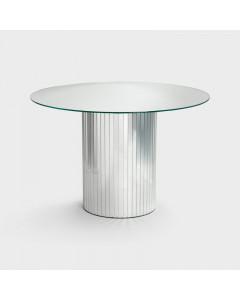 &K Bijzettafel Mirror Silver