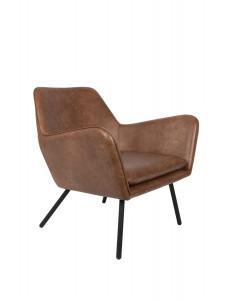 Meer Design Loungestoel Bon Brown