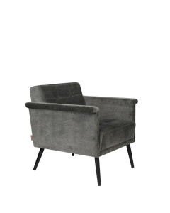 Dutchbone Fauteuil Sir William Vintage Grey