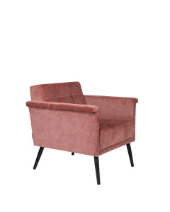 Dutchbone Fauteuil Sir William Vintage Pink