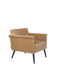 Dutchbone Fauteuil Sir William Vintage Camel