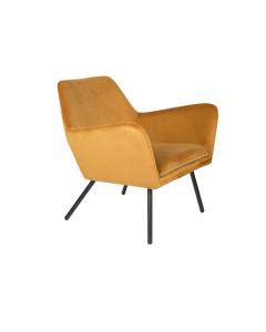 Meer Design Loungestoel Bon Velvet Gold