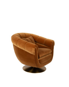 Dutchbone Fauteuil Member Whiskey