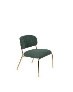 Meer Design Loungestoel Jolien Gold/Dark Green