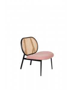 Zuiver Fauteuil Spike Natural Pink