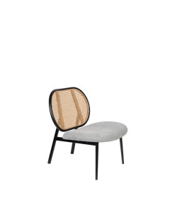 Zuiver Fauteuil Spike Natural/Grey