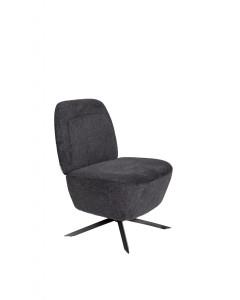 Zuiver fauteuil Dusk Dark Grey