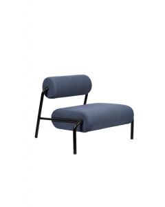 Zuiver Loungestoel Lekima Dark Blue