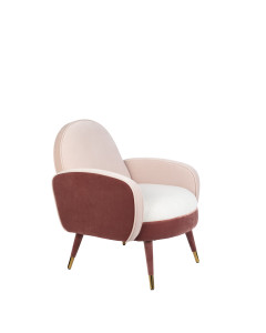 Zuiver Fauteuil Sam Pink White