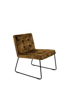 Meer Design Loungestoel Clark Gold Yellow