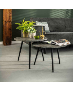 Meer Design Salontafel Chili Set van 2