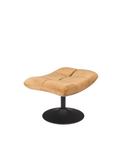 Dutchbone Hocker Bar Velvet Golden Brown