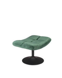 Dutchbone Hocker Bar Velvet Green
