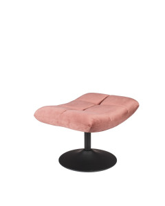 Dutchbone Hocker Bar Velvet Old Pink