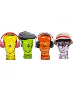 Kare Decofiguur Headphone Mount Transparent