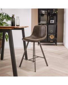 Meer Design Barkruk Noorwegen Taupe