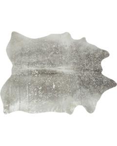 Kare Vloerkleed Hide Acid Wash Silver