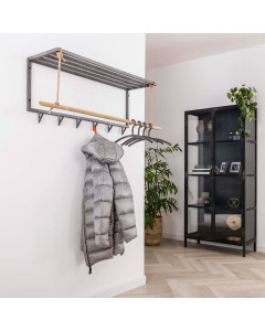 Meer Design Kapstok Malone Bamboo Hoedenplank