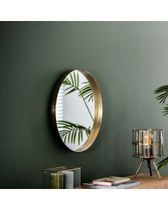 Meer Design Spiegel Dubai Goud Ø50 cm