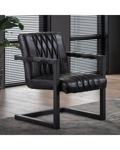 Meer Design Fauteuil Bazel Antraciet