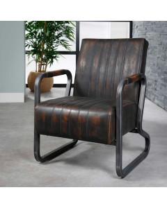 Meer Design Fauteuil Houston Vintage Brown