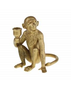 Kandelaar Monkey Gold