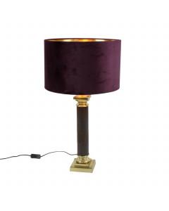 Tafellamp Exquisite Purple Gold 71 cm