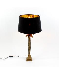 Tafellamp Palm Black Gold