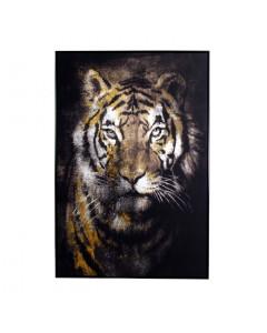 Schilderij Tiger 80x120 cm