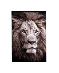 Schilderij Lion 80x120 cm