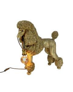 Tafellamp Poodle Elves Gold