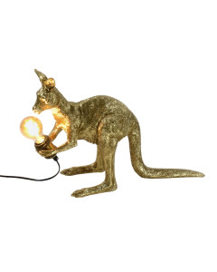 Tafellamp Kangaroo Skippie Gold