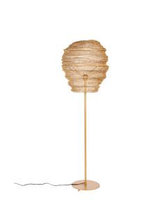 Meer Design Vloerlamp Lena Brass