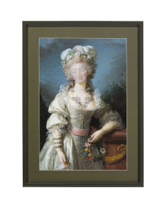 Kare Picture Frame Incognito Countess 112x82cm
