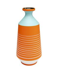 Kare Vaas Happy Day Orange 40cm