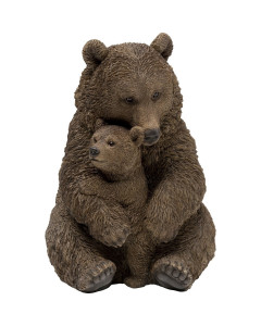 Kare Decofiguur Cuddle Bear Family 26cm