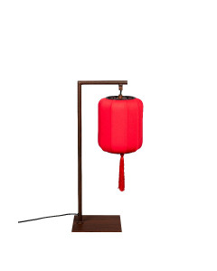 Dutchbone Tafellamp Suoni Red