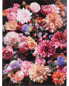 Kare Wandfoto Touched Flower Bouquet 120x90 cm