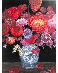 Kare Schilderij Touched Flower Explosion