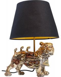 Kare Tafellamp Steampunk Pug