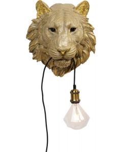Kare Wandlamp Tiger Head