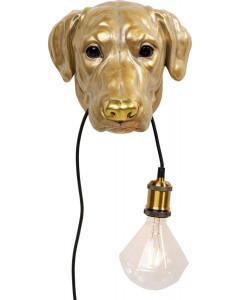 Kare Wandlamp Dog Head