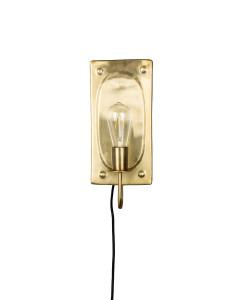 Dutchbone Wandlamp Brody Brass