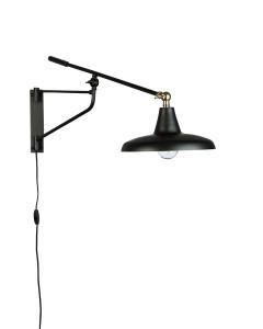 Dutchbone Wandlamp Hector Zwart